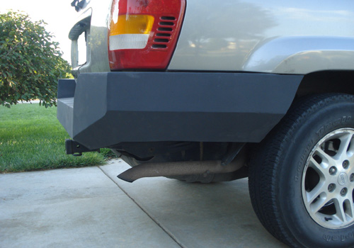 99 04 Jeep Grand Cherokee Wj Rear Bumper Flatland4x4